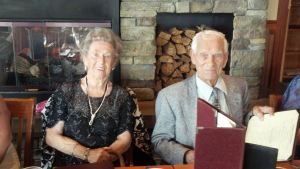 Knut & Haldis's 71st wedding anniversary