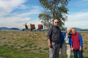 Knut with relatives September 2015.